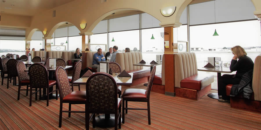 lunch and dinner at the fly away cafe @ monterey regional airport